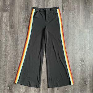 EUC Hot & Delicious Black Wide Leg High Rise Pants